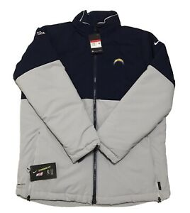 Nike Shield On-Field NFL AO3391- 419 LA Chargers Jacket Adult Size Large