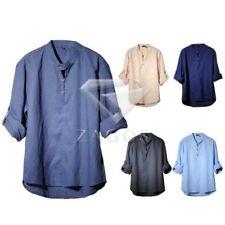 Unbranded Cotton Blend Regular Size Casual Shirts for Men