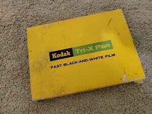 Kodak Tri-X Pan Professional Film Black & White TX523 exp.11, 1960 4x5 12 Sheets