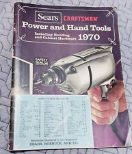 1970 Sears Craftsman Tools Cabinet Hardware Catalog