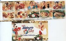 2007Visit Malaysia Year Food Cuisine Traditional Costume Dance Art (booklet MNH