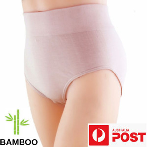 Bamboo Fibre Underwear Women's Brief - 6 Pack