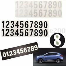 Street Address Mailbox Number Car Vinyl Decal Reflective Stickers White Black