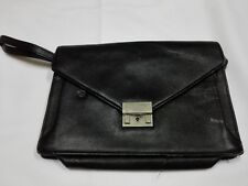 BURBERRY Clutch Purse Tote Bag Hand Hobo Unisex Mens Womens