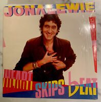 Jona Lewie - Heart Skips Beat - Vinyl LP 1982 - NM/VG + 7inch bonus single