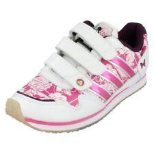 Scarpe bianchi marca adidas per bambine dai 2 ai 16 anni chiusura a strappo