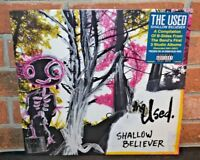 * THE USED - Shallow Believer, Limited 1st Press RSD BLUE VINYL LP NEW [BEND]