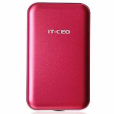 "Allcam USB 3.0 Portable External Hard Drive Enclosure for 2.5"" Laptop SATA Red"