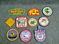 Group of 10 Vintage Boy Scout Patches (Lot C)