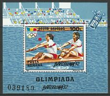 Romania 1992 Olympic Games - Barcelona MNH Block