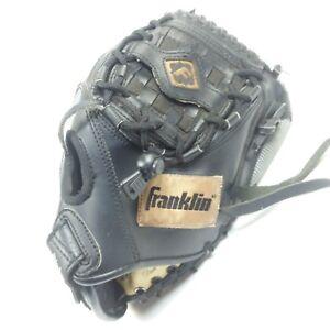 Franklin Baseball Glove 4626 10.5 Inch Black Left Hand Mitt Infinite Webb deer