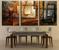 CHENPAT29 3pcs abstract wall art 100% hand-painted modern oil painting canvas