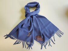 6c5d0e67d16 Authentic LOUIS VUITTON Cashmere scarf Jhelam Stole Blue NEW R.P. 650£ Very  Rare