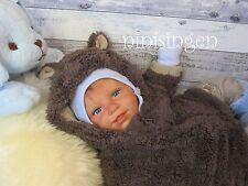 ninisingen Reborn Baby Lasse Kopf Scherer Cuddle Baby Babypuppe Rebornbaby Puppe