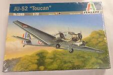 Italeri 1/72 JU-52 Toucan Transport Aircraft Iron Anne Model Kit 1265