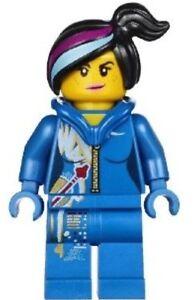 LEGO Movie Series SPACE WYLDSTYLE Minifigure Blue Suit Hood Down