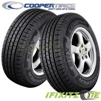 2 Cooper Discoverer SRX 285/45R22 114H XL All Season M+S Touring Tires CUV SUV