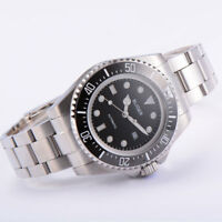 44mm BLIGER Ceramic bezel sapphire glass SUB black dial  automatic mens watch
