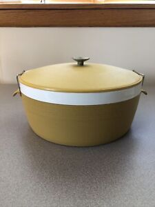 Vintage Olympian Therm-O-Ware Serving Bowl w/Lock Lid