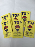 600(6 Booklets With 100 Leaves Each) TOP FINE GUMMED CIGARETTE PAPERS RYO PAPER