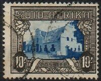 South Africa 1933 Local Motifs 10/- Superb Unmounted USED Stamp SUID AFRIKA 10'