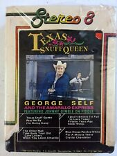 George Self & The Amarillo Express – Texas Snuff Queen  8-Track 1980 NEW/SEALED