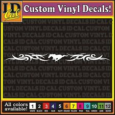 "32"" Ford Mustang Tribal Pony Horse car truck window Racing Stripe Decal Sticker"
