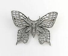 925er Silber Brosche Schmetterling mit Swarovski-Steinen 9901530