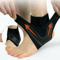 ADJUSTABLE ELASTIC ANKLE SLEEVE Elastic Ankle Brace Guard Foot Support Sports w8