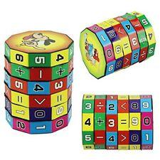 Fine Bambini, figli matematica numeri cubo magico dono di puzzle giocattolo #V