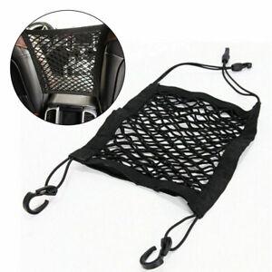 Car Seat Hanging Storage Pocket Mesh Net Bags Universal Tidy Elastic Organiser