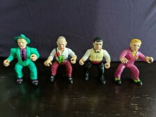 Vintage 1990 Playmates Dick Tracy Action Figures Lot of 4