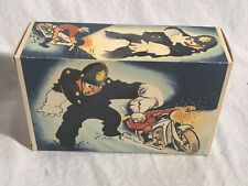 Arnold Toys 560 Tin Wind Up Toy motorcycle Box Only US Zone Germany