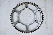 C.1950s WILLIAMS 50T VINTAGE ROAD BICYCLE CHROME STEEL CHAINRING, 116MM BCD