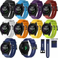 Silicone Wrist Band Strap for Garmin Forerunner 935 GPS Running/Triathlon Watch