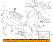 FORD OEM 11-18 F-150 3.5L-V6 Exhaust System-Front Pipe Bolt W714717S439