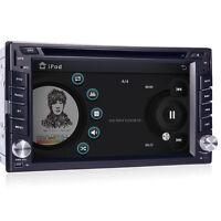 GPS Navigation HD Double 2DIN Car Stereo CD DVD Player Bluetooth MP3 TV Radio