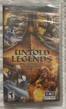 Untold Legends: Brotherhood Of The Blade Sony For PSP UMD RPG Brand New Sealed