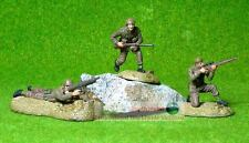 WW2 BRITISH INFANTRY ARMY AFRICA DESERT RATS 1:32 PAINTED FIGURE SOLDIERS 21102