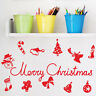 Christmas Decorations Vinyl Art Wall Stickers / Wall Decals / Wall Transfers
