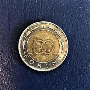 1998 Hungary Magyar Népköztársaság 100 Forint Száz Florint Shield Pajzs