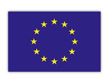 Aufkleber EU Flagge Europäische Union Fahne Europa Emblem Europaflagge 10cm