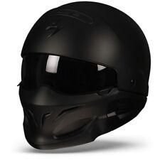 Scorpion Exo-Combat Matte Black, Modular Motorcycle helmet, Combat, Covert, NEW