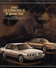 Oldsmobile Cutlass 1985 USA Market Sales Brochure Supreme Salon Ciera Cruiser