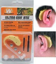 Sound Amplification Hearing Enhancer Protection Hunter Walker's Ultra Ear BTE
