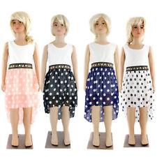 Markenlose knielange Mädchenkleider-Muster