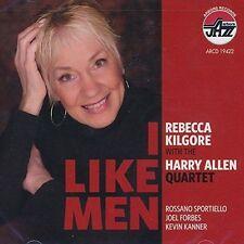I Like Men by Rebecca Kilgore; Harry Allen Quartet (CD, 2014, Arbors) VERY GOOD