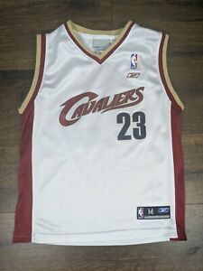 Reebok Cleveland Cavaliers LeBron James Jersey Size Youth Medium