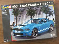 Revell 07089 - 2010 Ford Shelby GT500-masiva 1/12 Kit-muy Raro
