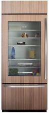 Sub-Zero BI30UGO 30 Inch Built-in Bottom-Freezer Refrigerator Glass Door Left H